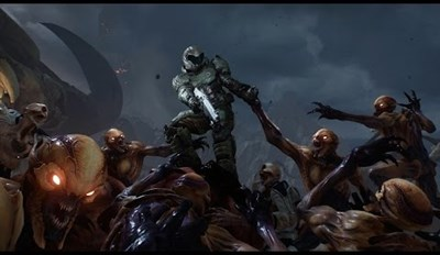 Check out the Doom Launch Trailer, and Prepare to Board the Hype Train Right After