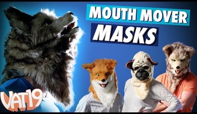 These Animal Mouth Mover Masks Are Strange and Hilarious
