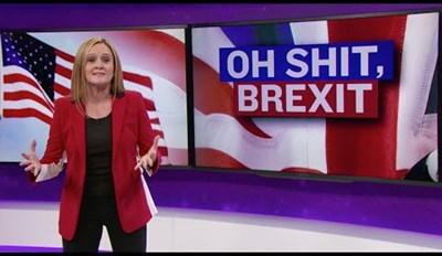 Samantha Bee Compares Trump's Campaign to the Brexit Vote in the UK, and It Doesn't Look Good