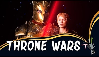 """""""Throne Wars"""" Takes Scenes From Game of Thrones and Sets Them to Star Wars Audio"""