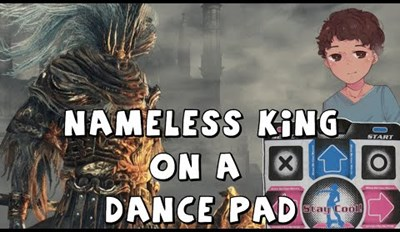 Guy Not Only Beats Dark Souls Using a Dance Pad, but He Also Defeats the Nameless King, Cause Why Not?