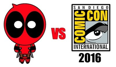 Deadpool vs Comic-Con 2016