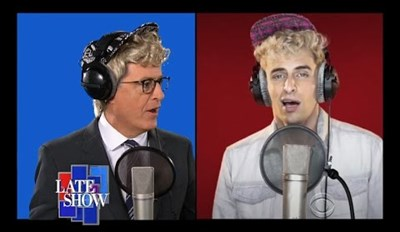 "This Is Why They Didn't Invite Stephen Colbert to Sing That Acapella ""Fight Song"" for Hillary Clinton"