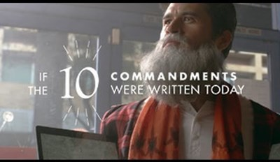 The Updated Version of the Ten Commandments Is Literally the Worst