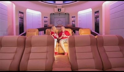 Take a Tour of the Star Trek-Themed Home Theater That Costs More than the USS Enterprise
