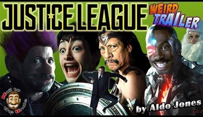 The Justice League Weird Trailer Is Just about as Bizarre as It Gets