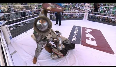 If Medieval Times and UFC Had a Baby, It Would Be These Knight Fights