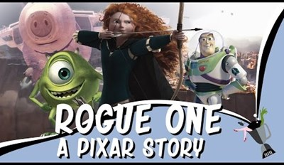 Rogue One Trailer Recreated With Clips From Pixar Movies