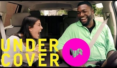 Baseball's David Ortiz Goes Undercover as a Lyft Driver to Test Bostonians' True Red Sox Love