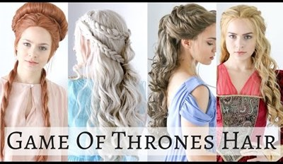 Learn How to Do 4 Iconic Game of Thrones Hairstyles For Halloween