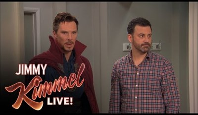 Jimmy Kimmel Hires Doctor Strange for Kid's Birthday Party, and Things Don't Go as Planned
