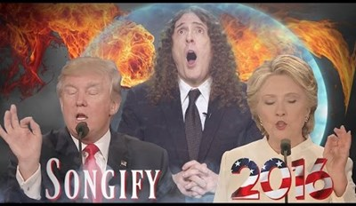 Weird Al Moderates the Songified Version of the Presidential Debate That You Need to Hear