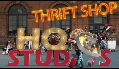 Video of the Day: New and Improved Version of Macklemore's Thrift Shop Video is Made from Gifs