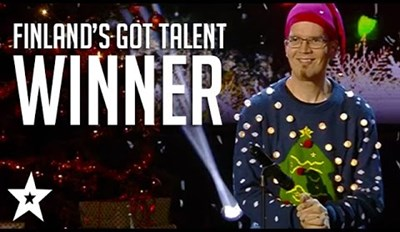 Dude Who Farts With Hands Takes Home the Crown on Finnish Talent Show