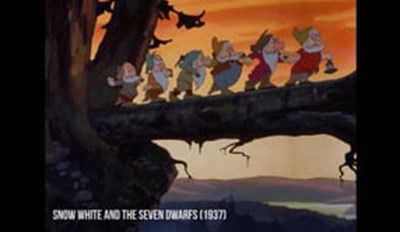 Video of the Day: Kickback and Enjoy 80 Years of Disney Animation in Three Minutes