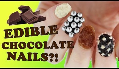Innovation of the Day: The Chocolate Manicure Exists, Nails It