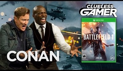 "Clueless Gamer: ""Battlefield 1"" With Terry Crews"