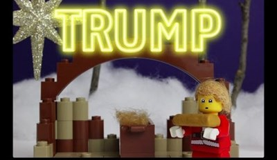 Watch How LEGO Trump Wants to Make Christmas Great Again in the North Pole