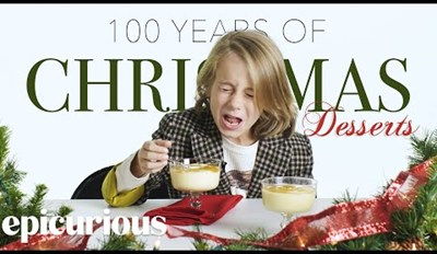 Surprisingly, Kids Try and Didn't Hate Christmas Desserts From the Past 100 Years