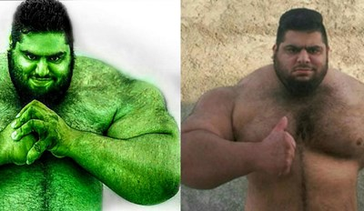 342-Pound Powerlifter Deemed the Iranian Hulk, and Could Probably Beat Gregor Clegane in an Arm Wrestling Match
