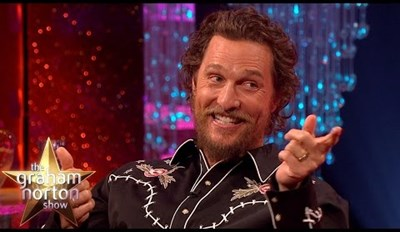 Matthew McConaughey Tells the Amazing Story About the One Time His Dad Won a Motorbike in a Literal Pissing Contest