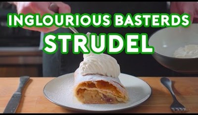 Here's How to Make That Tasty Looking Strudel From Inglorious Basterds