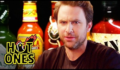 Charlie Day Eating the World's Hottest Chicken Wings is the Long Lost 'Always Sunny' Segment We Needed