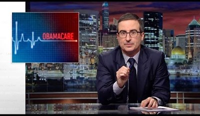 Allow John Oliver to Explain What's Going With Obamacare and Why Every Senior Citizen in America is Yelling At Their Representative