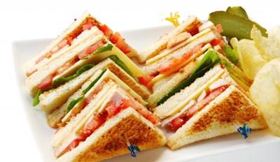 It's a sandwich