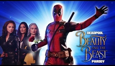 Deadpool Crashes NSFW Beauty and The Beast Parody and Naturally It's Amazing