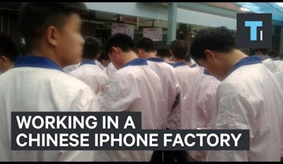 Guy Works Undercover in Chinese iPhone Factory and It's the Stuff of Nighmares