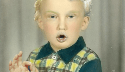 Donald Trump's Baby Picture Just Made Photoshop Battles Great Again