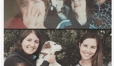 After 16 Years, a Family Photo Recreation Keeps This Family's Memories of Their Beloved Dog Warm in Their Heart