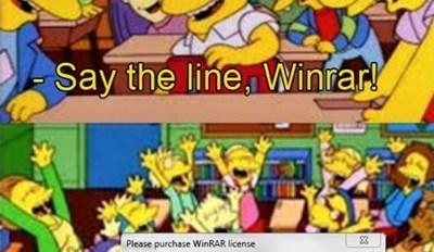 Poor Winrar
