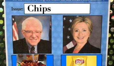 Bernie vs Hillary: Chips?