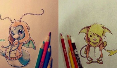 This Artist's Collection of Pokémon in Their Evolved Hoodies Is so Adorable It Hurts