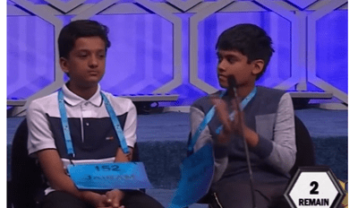 This Spelling Bee Contestant Proves That Smart Kids Aren't Above Being Cocky AF