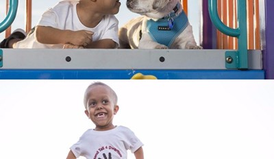 This Boy and His Dog Both Have Dwarfism and Could Not Be Happier to Have Found Each Other