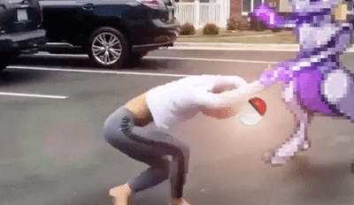 Oh, so That's What Happens When You Try to Catch Mewtwo on Pokémon GO