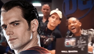 Henry Cavill Went Disguised to Comic-Con and Pranked the Living Hell out of Suicide Squad's Will Smith