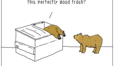 One Man's Trash is a Bear's Treasure