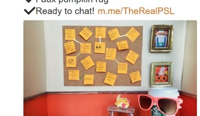 Basic Bitch Hype of the Day: Now You Can Chat With a Starbucks Pumpkin Spice Latte Bot