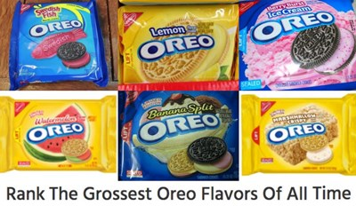 Oreo Has Had Some Awful Flavors, So Let's Use This List To Rank the Grossest Ones