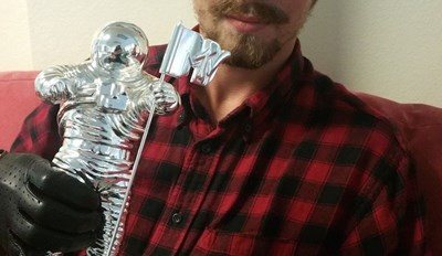 Come Up of the Day: Miley's VMA Homeless Teen Sells Moonman on Ebay