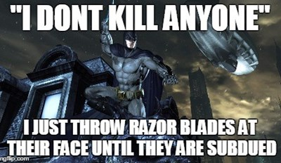 Batman Logic Be Like