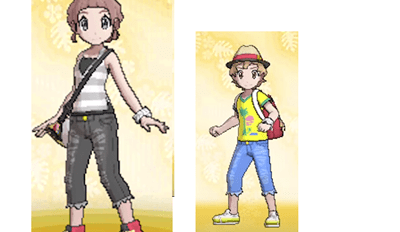 Some Evidence of Gender Neutral Clothing in Pokémon Sun and Moon