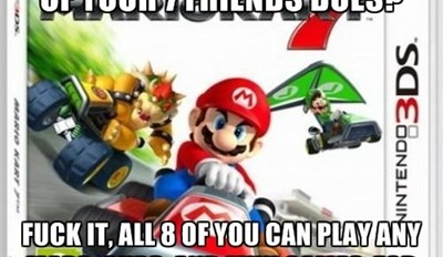 Never Forget, Good Guy Mario Kart 3DS
