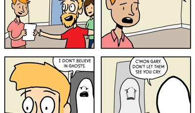 Ghosts Need Support Too