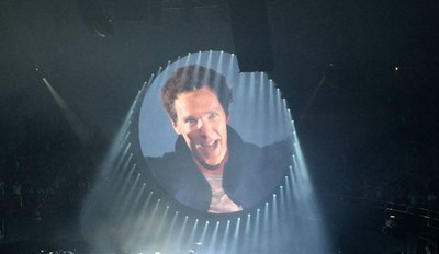 "Cumberbatch of the Day: Benedict Sings Pink Floyd's ""Comfortably Numb,"" Reminds us all Why He's Great"