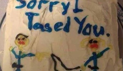Florida Woman Got This Apology Cake After Being Wrongfully Tased By Cop